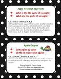 Kindergarten Common Core: Apple Graphs and Apple Research