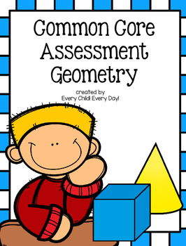 Kindergarten Common Core Assessment: Geometry