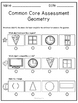 Kindergarten Common Core Assessment: Geometry