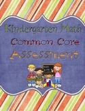 Kindergarten Common Core Assessment Pack- Math