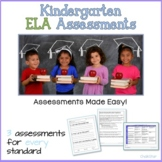 Kindergarten Assessments ELA