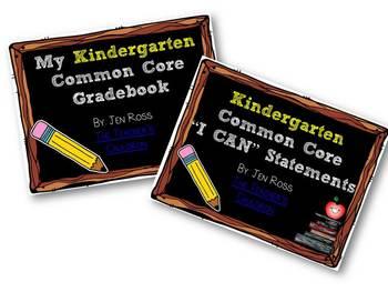 Kindergarten Common Core BUNDLE