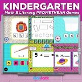 Kindergarten Common Core Based Math and Literacy PROMETHEAN FLIPCHARTS Game Pack