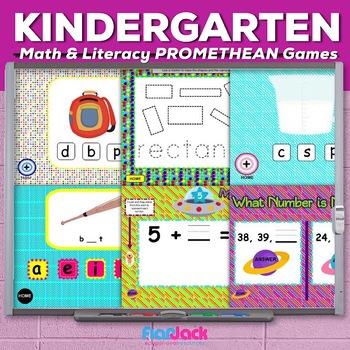 Kindergarten Common Core Based Math and Literacy PROMETHEA