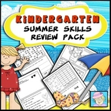 End of the Year Activities Kindergarten | Summer Review Packet for Kindergarten