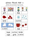 Christmas & Winter Cut N Paste Plurals (4 Total)