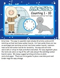 Kindergarten Common Core Counting to 10 Activity Task Cards