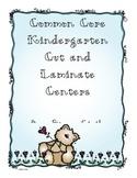 Kindergarten Common Core Cut and Laminate Centers Part 3