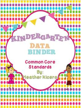 Kindergarten Common Core Data Binder