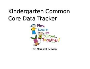 Kindergarten Common Core Data Tracker