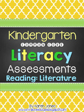 Kindergarten Common Core ELA Assessments - Reading: Literature Strand