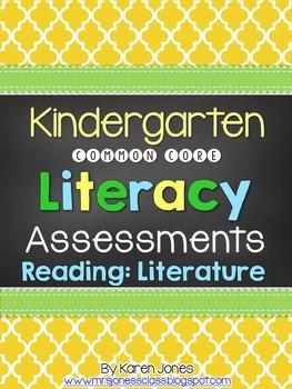 Kindergarten Common Core ELA Assessments - Reading: Literature Strand