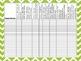 Kindergarten Common Core ELA Standards Checklist