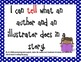 I Can Statements KINDERGARTEN Common Core Standards Navy Blue Dots (108 Pages)