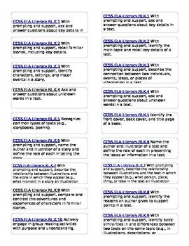 Jungle Theme 1st Grade Common Core File Folder Labels