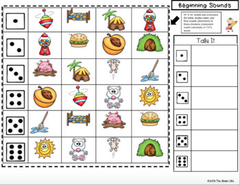 Kindergarten Common Core Fluency Mats Letters Sounds Numbers and MORE