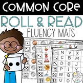 Kindergarten Common Core Roll and Read Fluency Mats