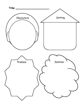 Kindergarten Common Core Graphic Organizers - Key Ideas and Details