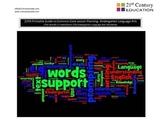 Kindergarten Common Core Guide--English Language Arts Standards