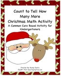 Christmas How Many More Activity Sheets