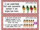 "Kindergarten Common Core ""I CAN STATEMENTS"" Pocket Chart Sized {Primary Chevron}"