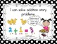 "Kindergarten Common Core ""I Can"" Posters (Black Polka Dot)"