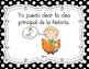 "Kindergarten Common Core ""I Can"" Posters (SPANISH)"