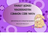 Kindergarten Common Core Identifying and Comparing Numbers