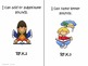"Kindergarten Common Core Language Arts and Math ""I Can Statements"" Bundled"