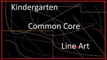 Kindergarten Common Core Line Art