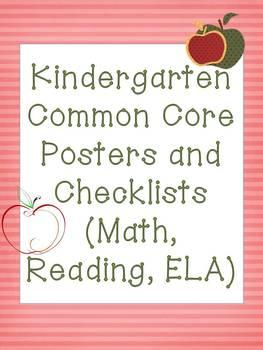 Kindergarten Common Core MEGAPACK! Apple Theme