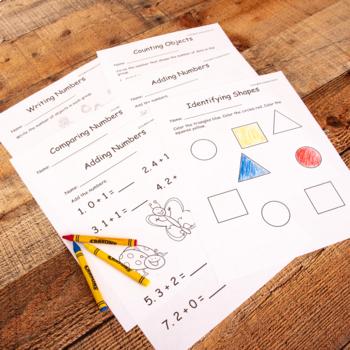 Kindergarten Common Core Math