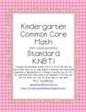 Kindergarten Common Core Math Assessments- K.NBT.1