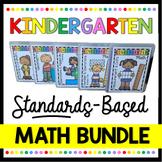 Kindergarten Common Core Math BUNDLE - Unit Plans - Center