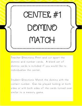 Kindergarten Common Core Math Centers- BUNDLE - EnVision Math® 2.0