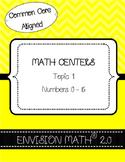 Kindergarten Common Core Math Centers- BUNDLE - EnVision M