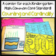 Kindergarten Common Core Math Centers- Counting and Cardinality