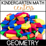 Kindergarten Common Core Math Centers- Geometry