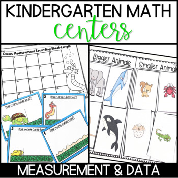 Kindergarten Common Core Math Centers- Measurement and Data