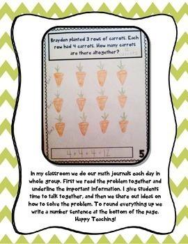 Daily Math Journal BUNDLE (Kindergarten Common Core - Entire Year)