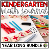 Daily Math Journal BUNDLE (Kindergarten Common Core - Enti