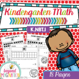 Kindergarten Math Worksheets Compose and Decompose Numbers