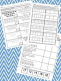 Kindergarten Common Core Math Practice Pack