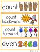 Math Vocabulary Cards Kindergarten