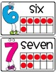 Kindergarten Common Core Math Vocabulary Posters