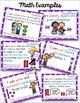 "Kindergarten Common Core Math and Language Arts ""I Can"" Posters"
