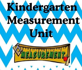 Kindergarten Common Core Measurement Unit