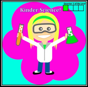 Kindergarten Common Core & Next Generation Science NGSS Lessons: Quarter 1