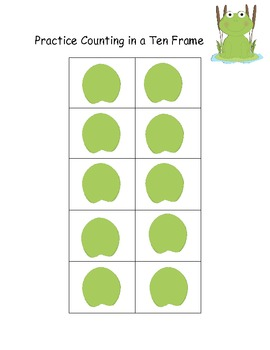 Kindergarten Common Core Number Recognition & Counting Game