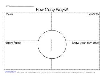 Kindergarten Common Core Math: Operations & Algebraic Thinking for 1-10